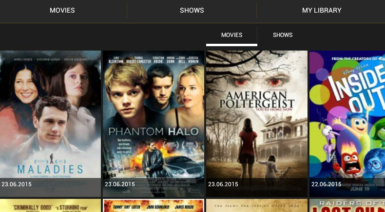 Showbox app download for tablet